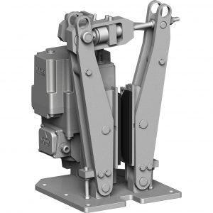 Electrohydraulic brake Vulkan DID-CO شرکت توسعه صنایع دی دیدکو واگن برگردان شرکت توسعه صنایع رابین دی ترمز هیدرولیک ترمز الکتروهیدرولیک